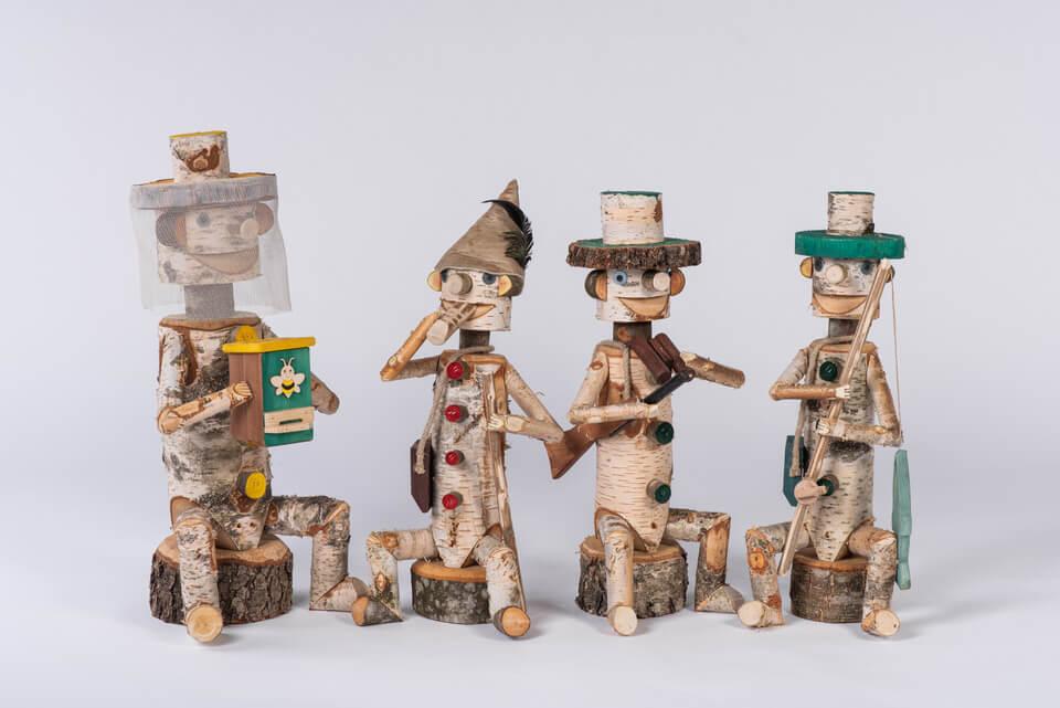 Leseni možički iz breze