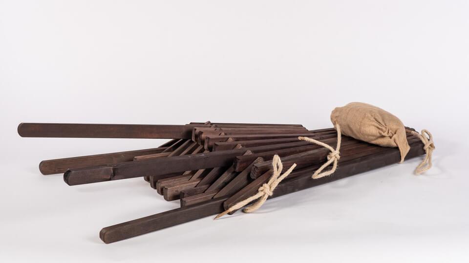 Lesen zložljiv ležalnik