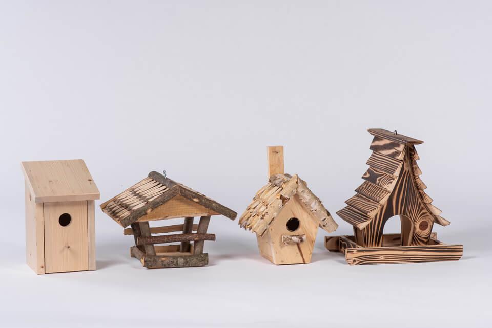 Lesene ptičje hiše